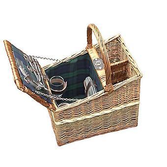 Lambourn Three Tone Fitted Picnic Basket