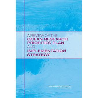 En gennemgang af Ocean forskning prioriteter Plan og gennemførelsen Str