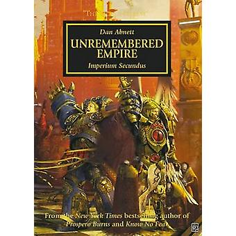 The Unremembered Empire by Dan Abnett - 9781849706919 Book