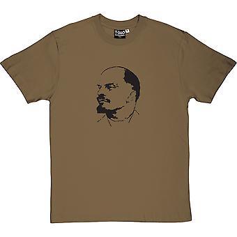 Vladimir Ilyich Lenin Military Green Men's T-Shirt