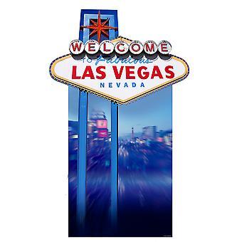 Vegas Sign (Poker Night) - Lifesize Cardboard Cutout / Standee