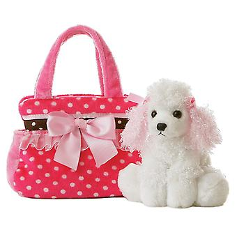Pals fantasia fantasia rosa Polka Dot 8 polegadas portador do animal de estimação