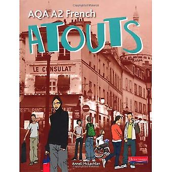 Atouts: AQA A2 franska Student Book
