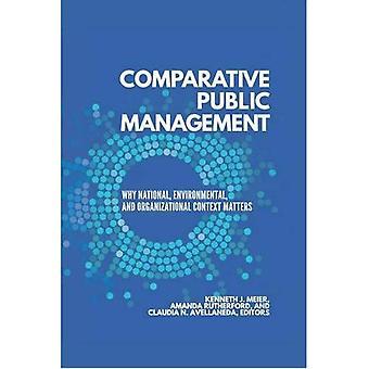 Administración pública comparada: Por qué importa el contexto nacional, ambiental y organizacional
