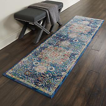 ANKARA ANR3 GLOBAL rectángulo azul alfombras alfombras tradicionales