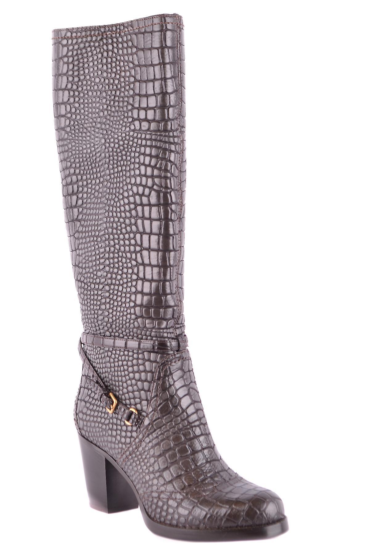 Car Shoe Ezbc029010 Women's Brown Leather Boots