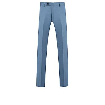 Doball Mens licht blauwe pak broek Regular Fit