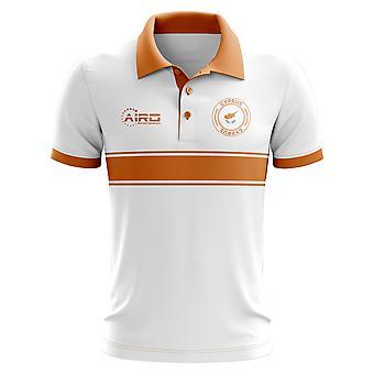 Cyprus Concept Stripe poloshirt (wit)