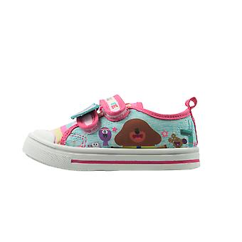 Hey Duggee Girls Madonnino Low Top Casual Trainers UK Sizes Child 5-10