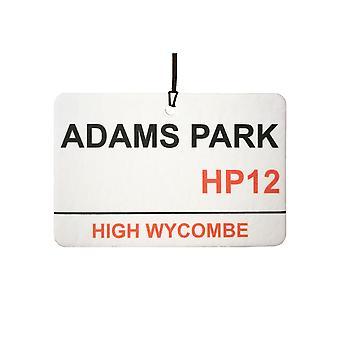 Wycombe Wanderers / Adams Park Street firmar ambientador de aire