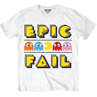メン&アポス;sパックマンエピックフェイルTシャツ