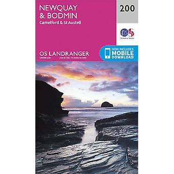 Newquay - Bodmin - Camelford & St Austell by Ordnance Survey - 978031