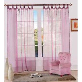 Comfort Collection Eyelet Curtain - Organza
