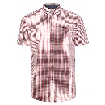 PETER GRIBBY Peter Gribby Gingham Seersucker Check Shirt