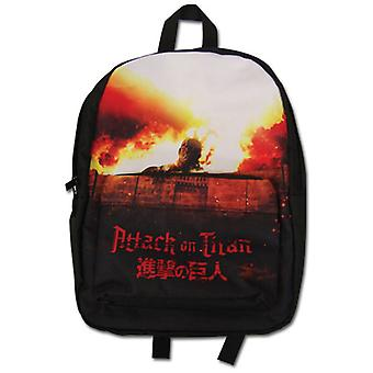 Backpack - Attack on Titan - Colossal Titan Rise New Anime Licensed ge11191