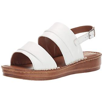 Bella Vita naisten Jes avoin toe rento nilkka hihna sandaalit