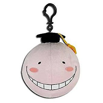 Plush - Assassination Classroom - Koro Sensei Pink 4'' Toys Soft Doll ge52916