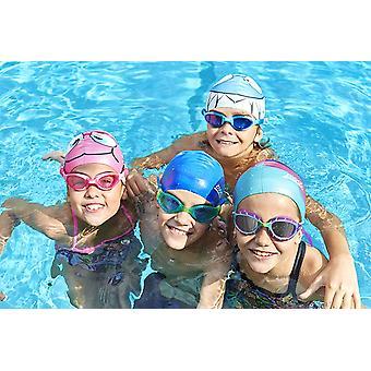 Zoggs Swimming Goggles Predator Junior in Purple/Light Blue/Smoke - 6-14yrs