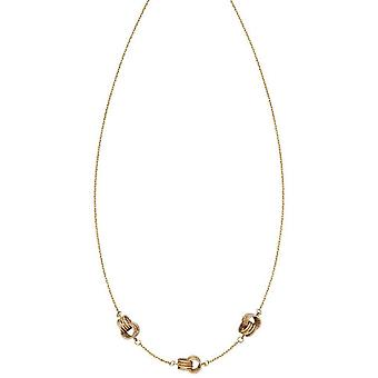 Elements guld knude Station halskæde-guld