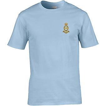 Royal Horse Artillery RHA - Licensed British Army Embroidered Premium T-Shirt