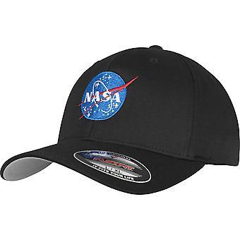 Mister Tee Flexfit Stretchable Cap - NASA Black