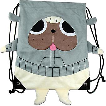 String Backpack - Kill la Kill - Guts Plush Draw Sling Bag New Licensed ge84558