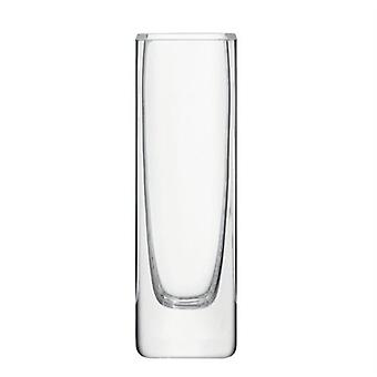 Vaso de haste de flor retangular de LSA claro H19Cm (decoração, jarras)