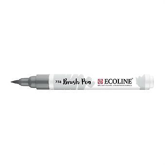 Talens Ecoline flüssige Aquarell Pinsel Stift - 738 kalt grau Licht