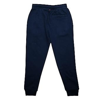 Junior Boys Luke 1977 Hills Angel Jog Hose In Navy - gerippte Manschetten und Taille-