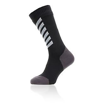 Sealskinz Waterproof All Weather Mid Length Socks With Hydrostop - SS20