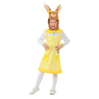Ragazze Peter coniglio silvilago Fancy Dress Costume