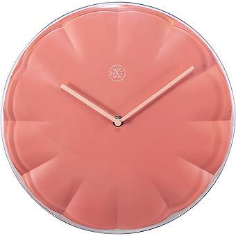 nXt - Wall clock - Ø 29,5 cm - Plastic - Red - 'Sweet'