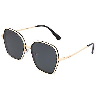 Bertha Emilia Polarized Sunglasses - Gold/Black