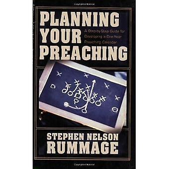 Het plannen van uw prediking: Een stapsgewijze handleiding voor het ontwikkelen van een eenjarige preken agenda