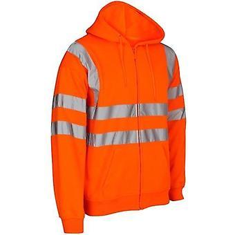 Hi vis HV311 ' Kapton ' zip hoodie