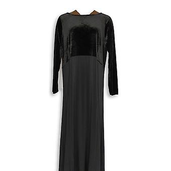 Linea by Louis Dell'Olio Dress Mixed Media Black A343619