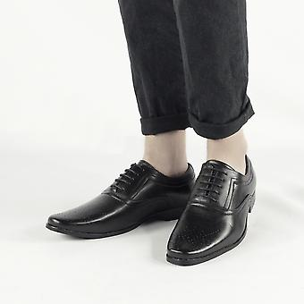 Shumo Bentley Mens Smart Oxford Shoes Black