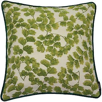 McAlister textilier gobeläng Maidenhair ormbunke grön kudde