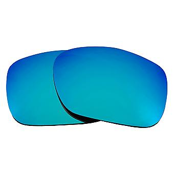 SEEK Replacement Lenses Compatible for Oakley TWOFACE Polarized Blue Mirror
