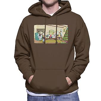 Rick and Morty Technology Takeover Men's Hooded Sweatshirt