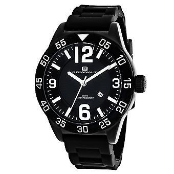 Oceanaut Men-apos;s Black Dial Watch - OC2710