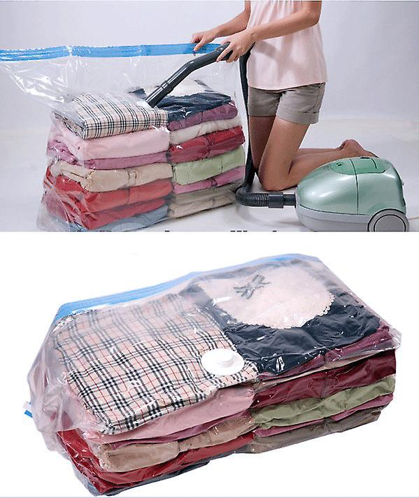 2-pack Vacuum bags for storage of clothes , duvets ,blankets