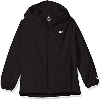 Starter Boys' Insulated Breathable Jacket,  Exclusive, Black, S