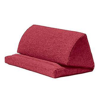 Wine Wool Effect iPad Kindle Tablet Boek Stand Foam Pillow Lap Rest Cushion
