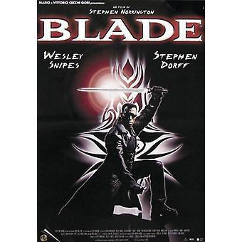 Blade Poster  Wesley Snipes, Stephen Dorff (ital)