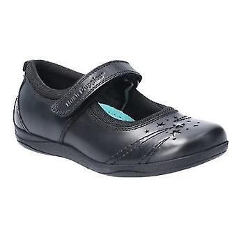 Hush Puppies Amber Junior Girls Leather School Shoe
