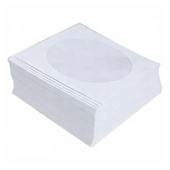 Cd-Dvd Paper Sleeve With Windows Hold 1 Disc 100Pcs Per Pack