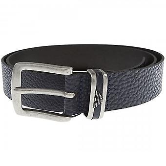 Emporio Armani Buckle Belt Black Y4S197 YDD0G