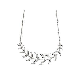 Joshua James Motive Silver Organic Necklace