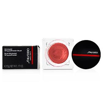 Shiseido Minimalist Whippedpowder Blush - # 01 Sonoya (warm Pink)  5g/0.17oz